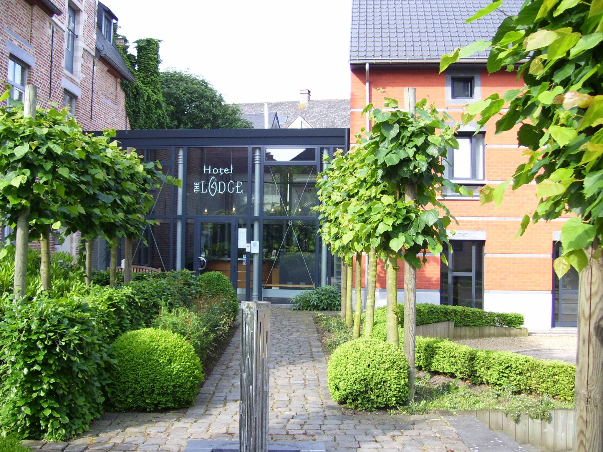 (Fietsvriendelijk) Hotel The Lodge in Diest.