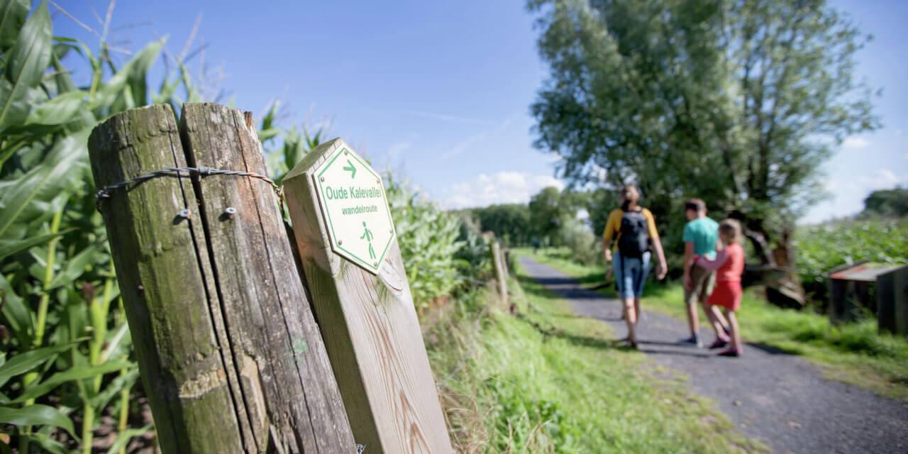 Slodderspookwandelroute, met start in Merendree.