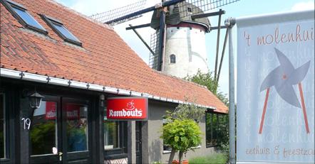 Restaurant 't Molenhuis in Ertvelde: Uitbaters blazen de zaak nieuw leven in.