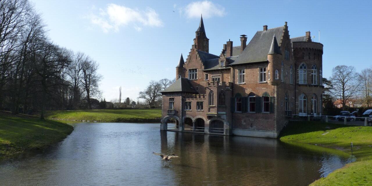 Fietsend genieten van de oevers van de Schelde tussen Antwerpen en Bornem.