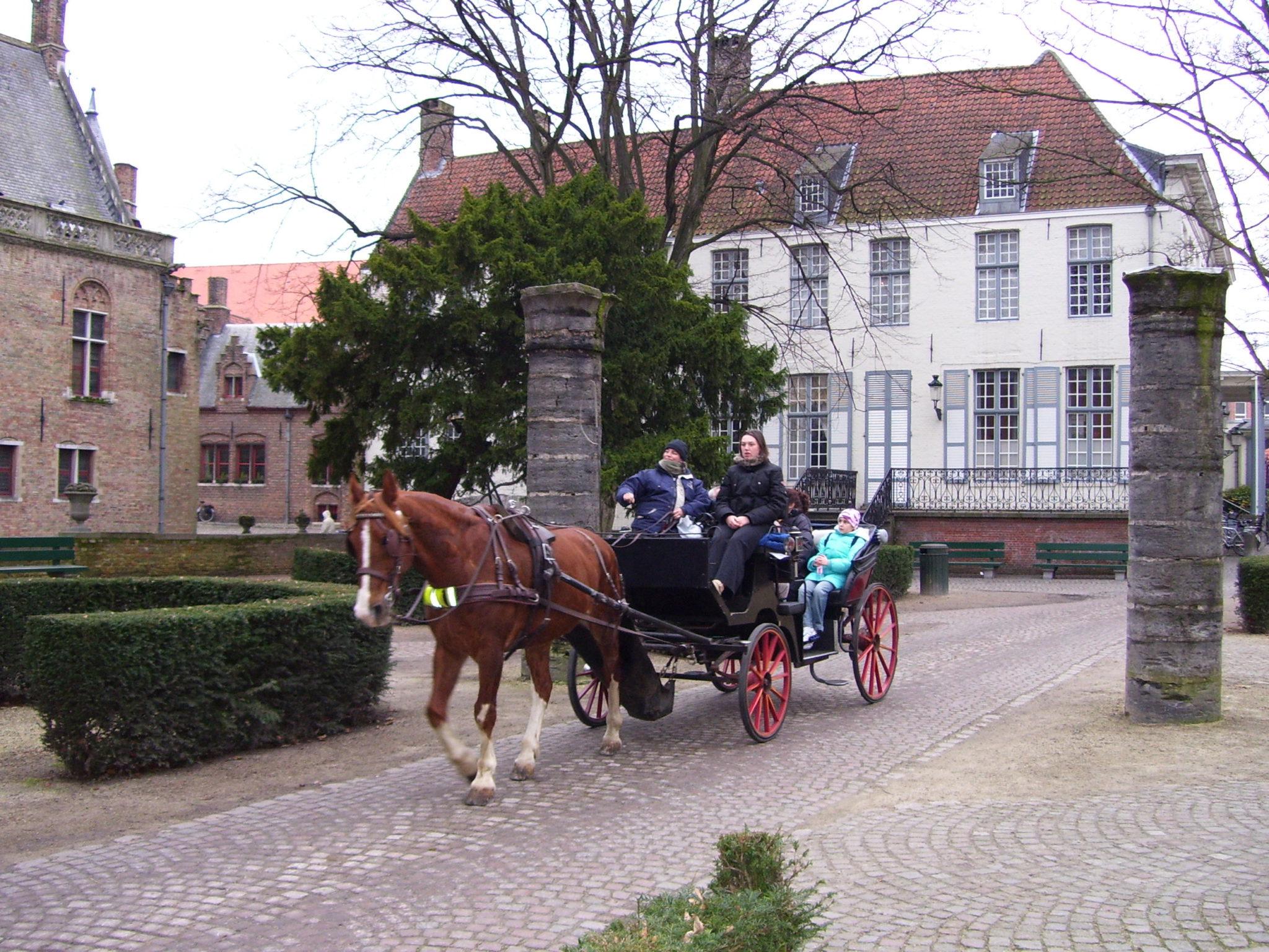 Brugge binnenste buiten.