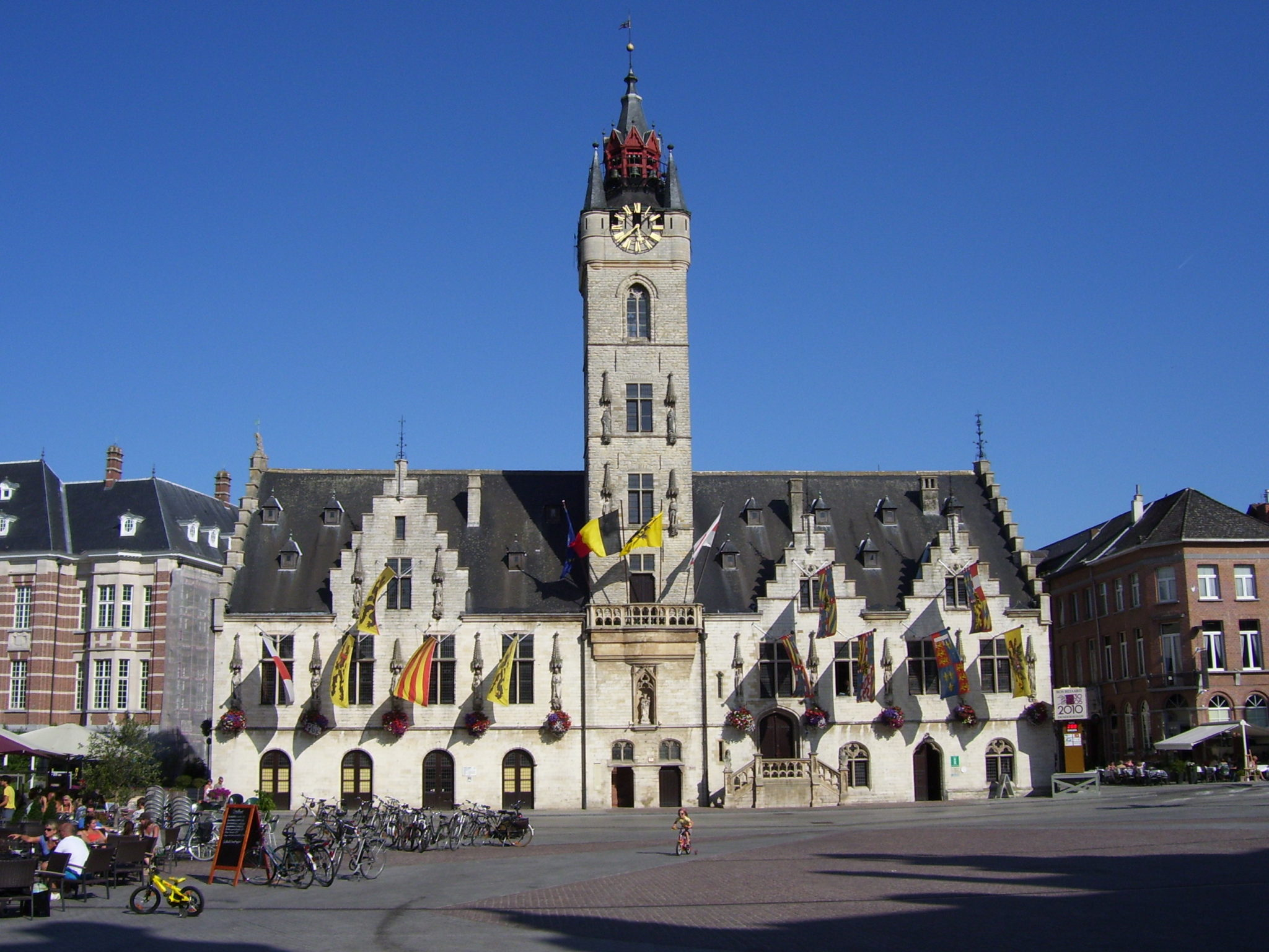 Dendermonde, stad aan de Dender.