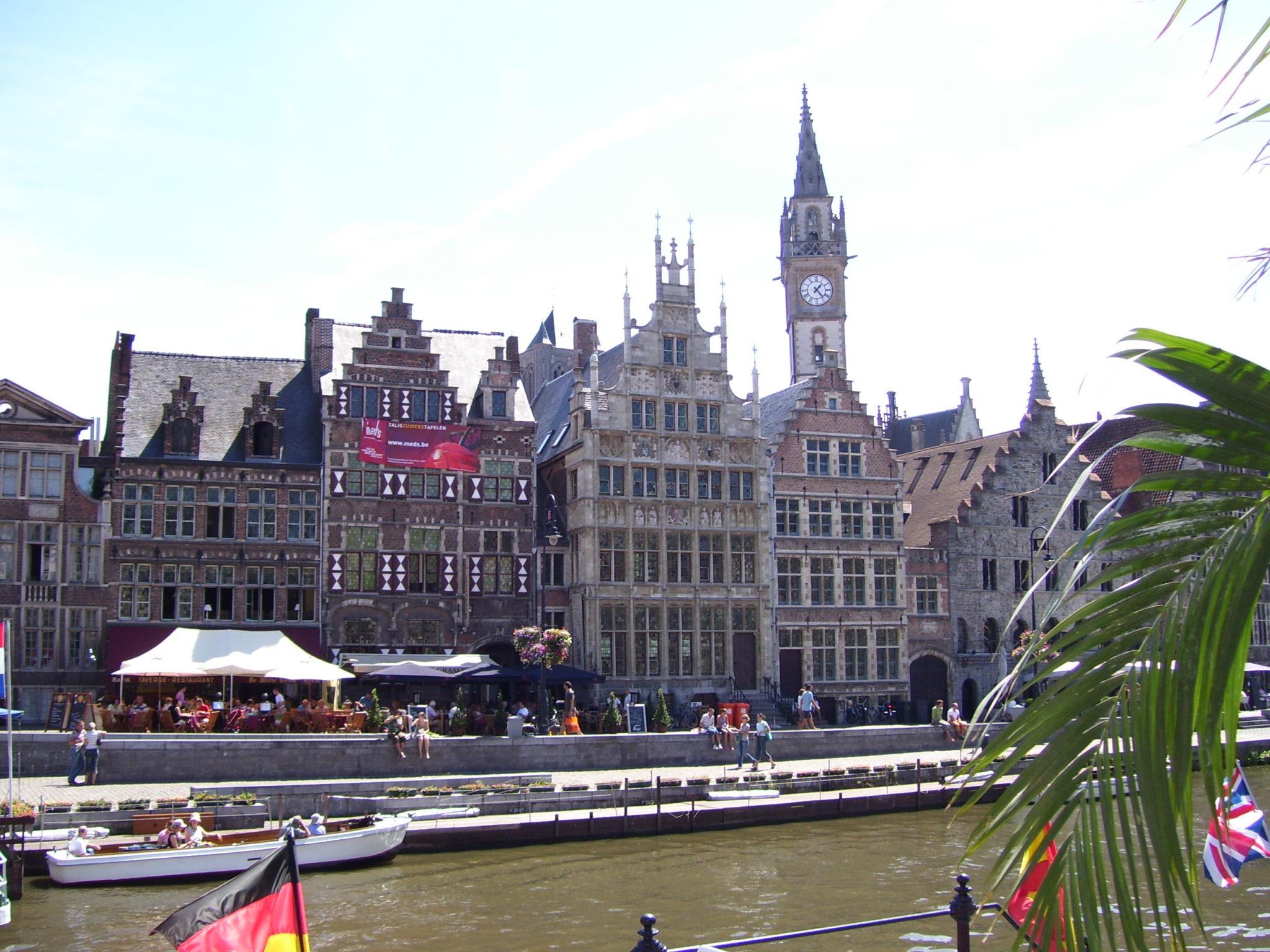 Ontdek eens een andere kant van de stad Gent.
