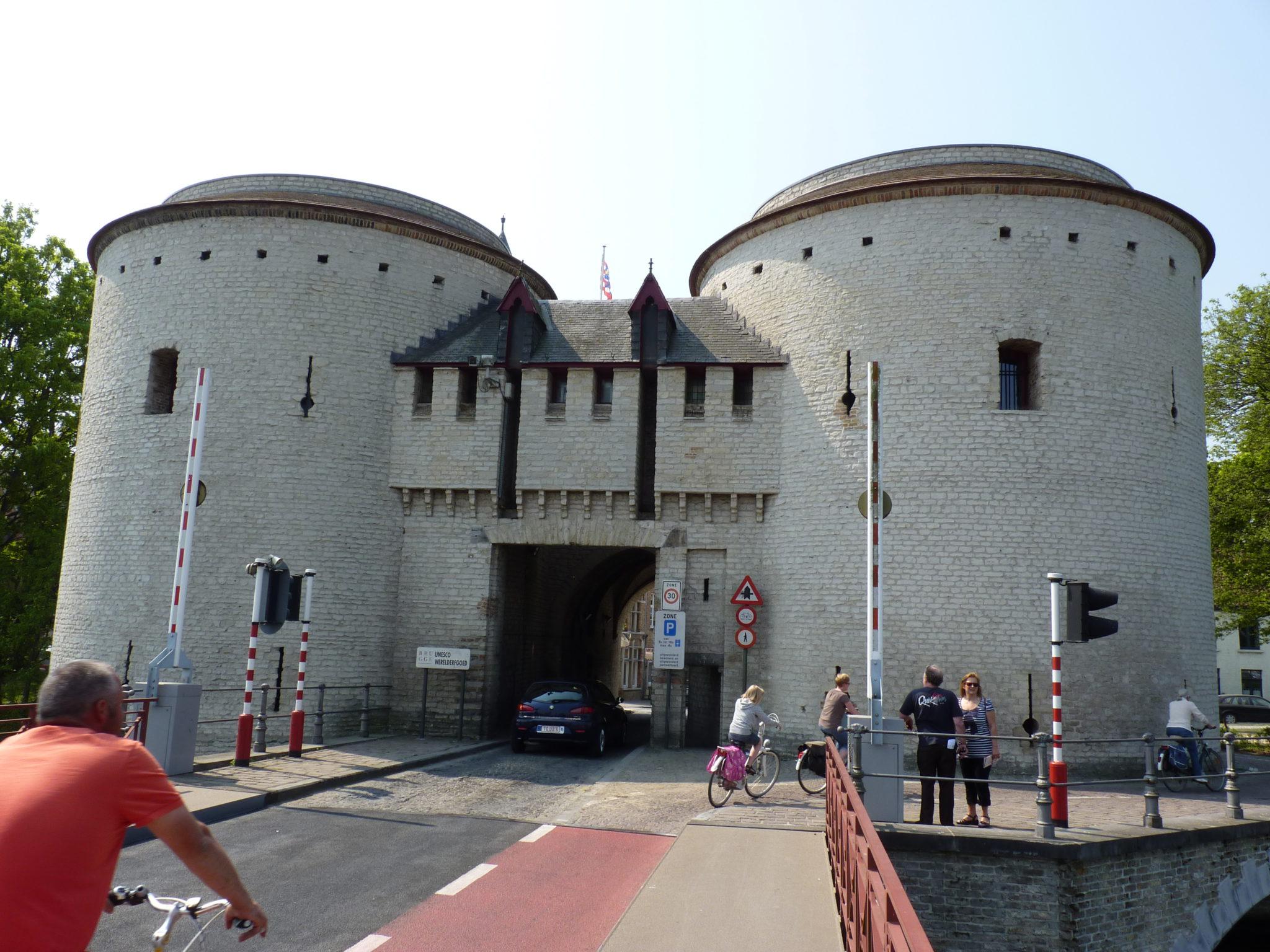 Wandelen van Brugge naar Damme.