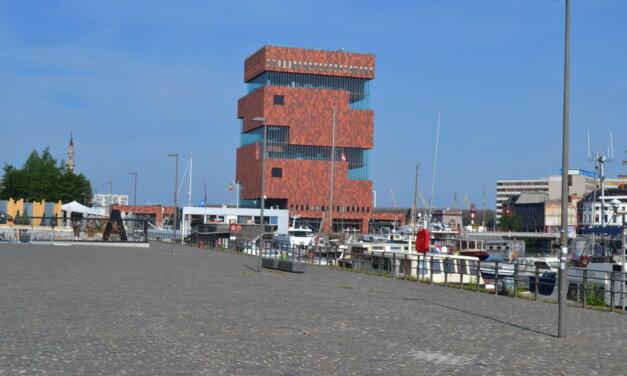 Een rondje oude haven van Antwerpen.