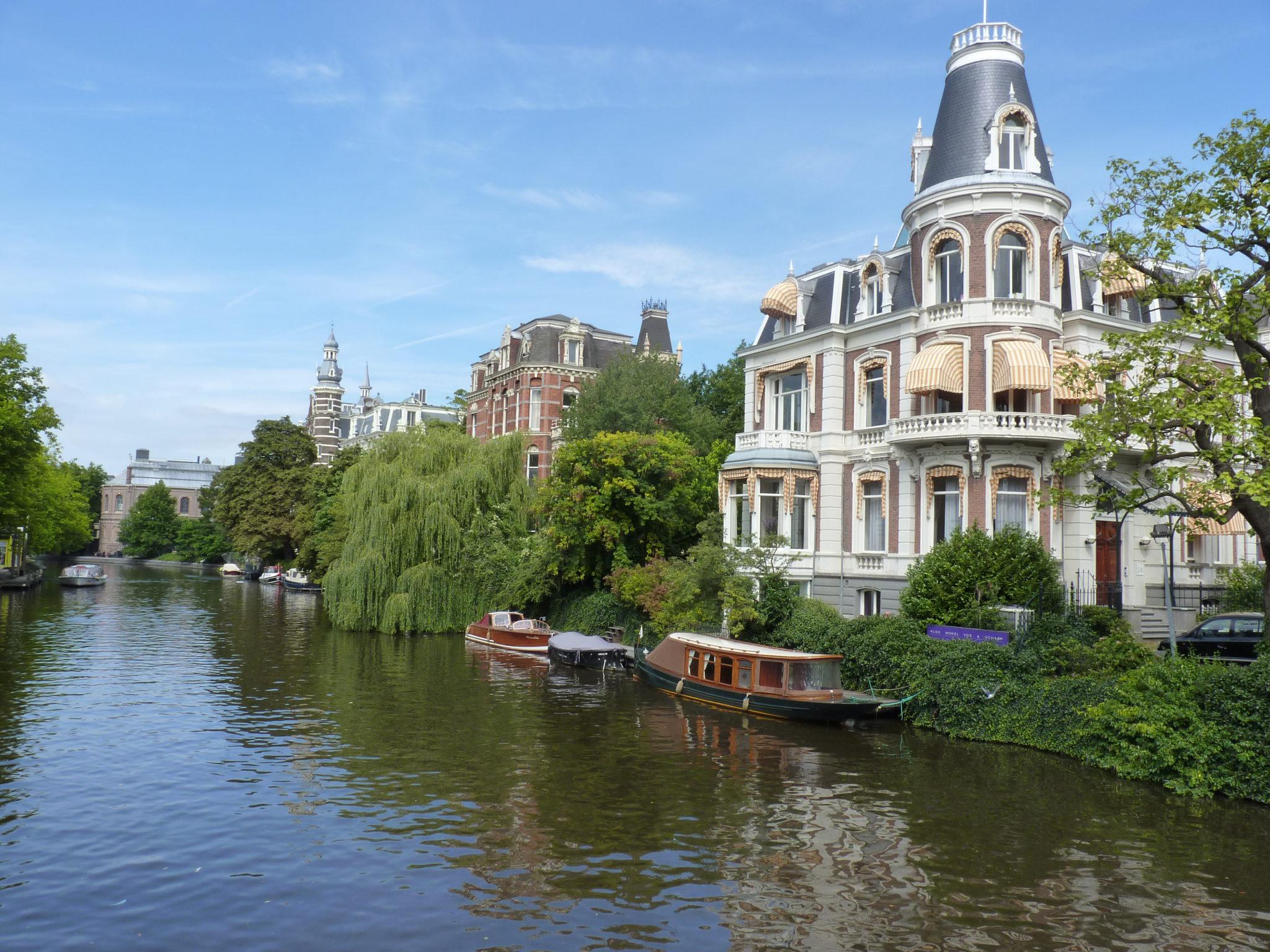 Amsterdam, een wandeling bij onze noorderburen.