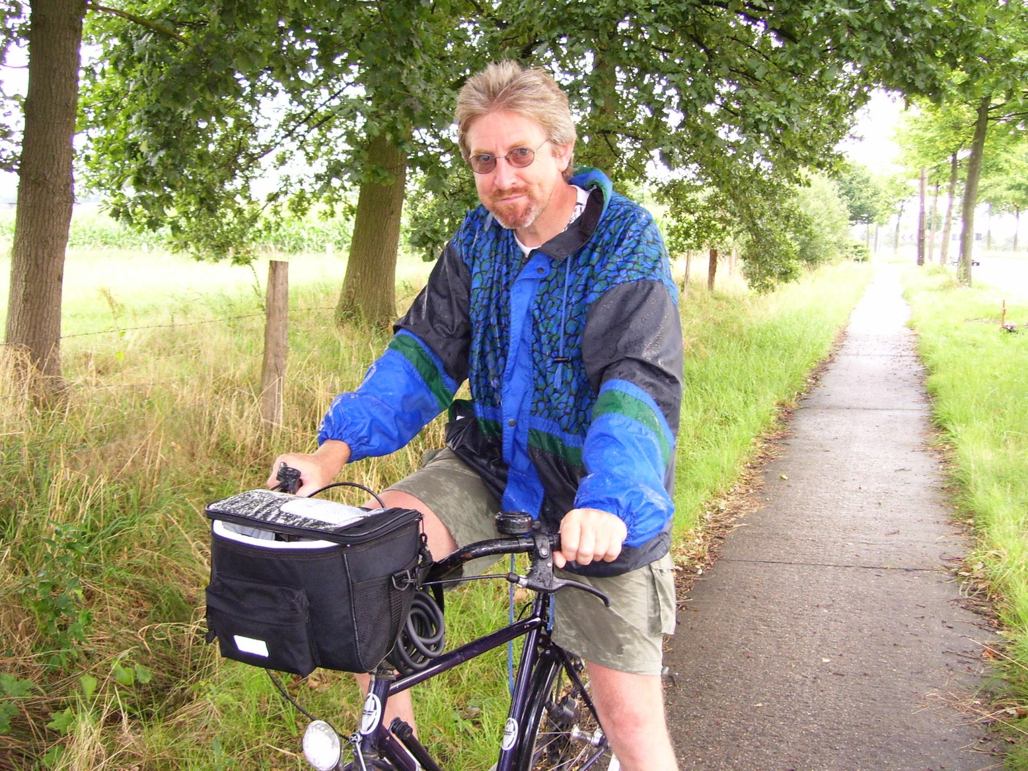 Al fietsend rond het Groot Schietveld.