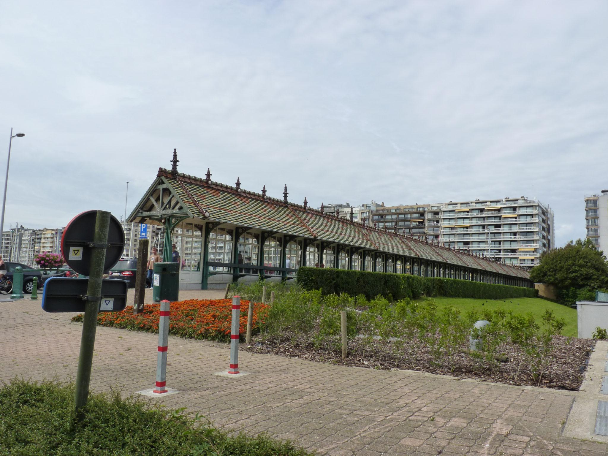 Te voet van Blankenberge naar Wenduine.