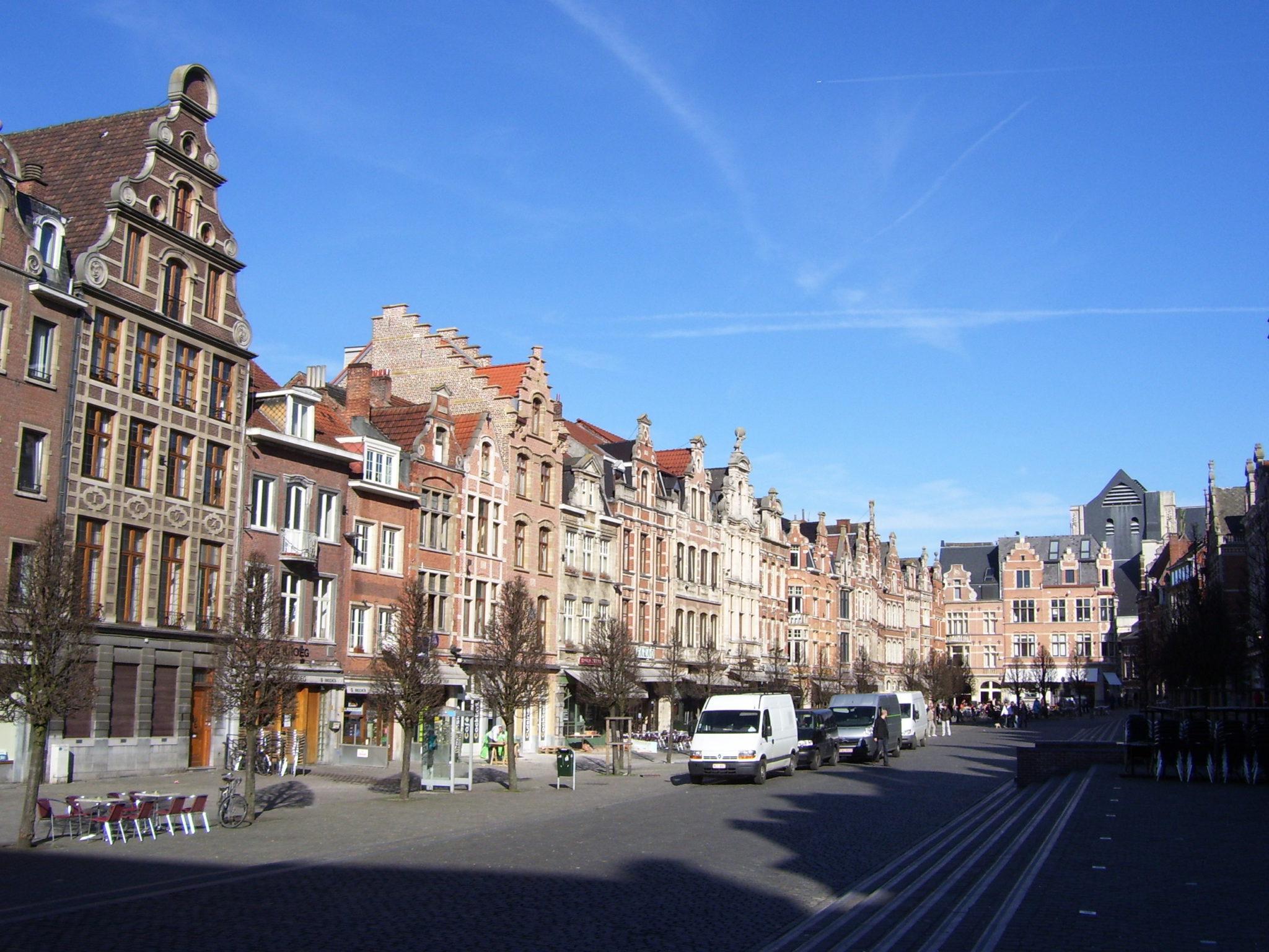 Leuven: stad van historische gebouwen en heel veel groen.