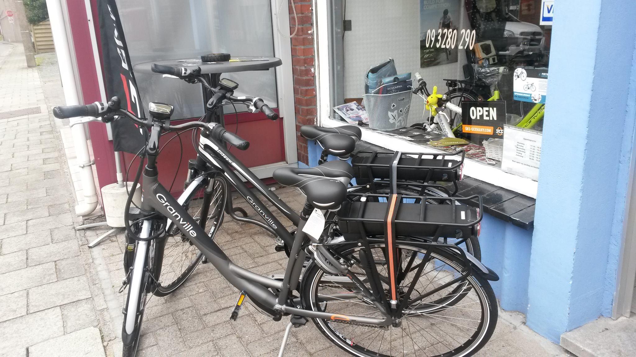 De opmars van de elektrische fietsen of E-bikes.