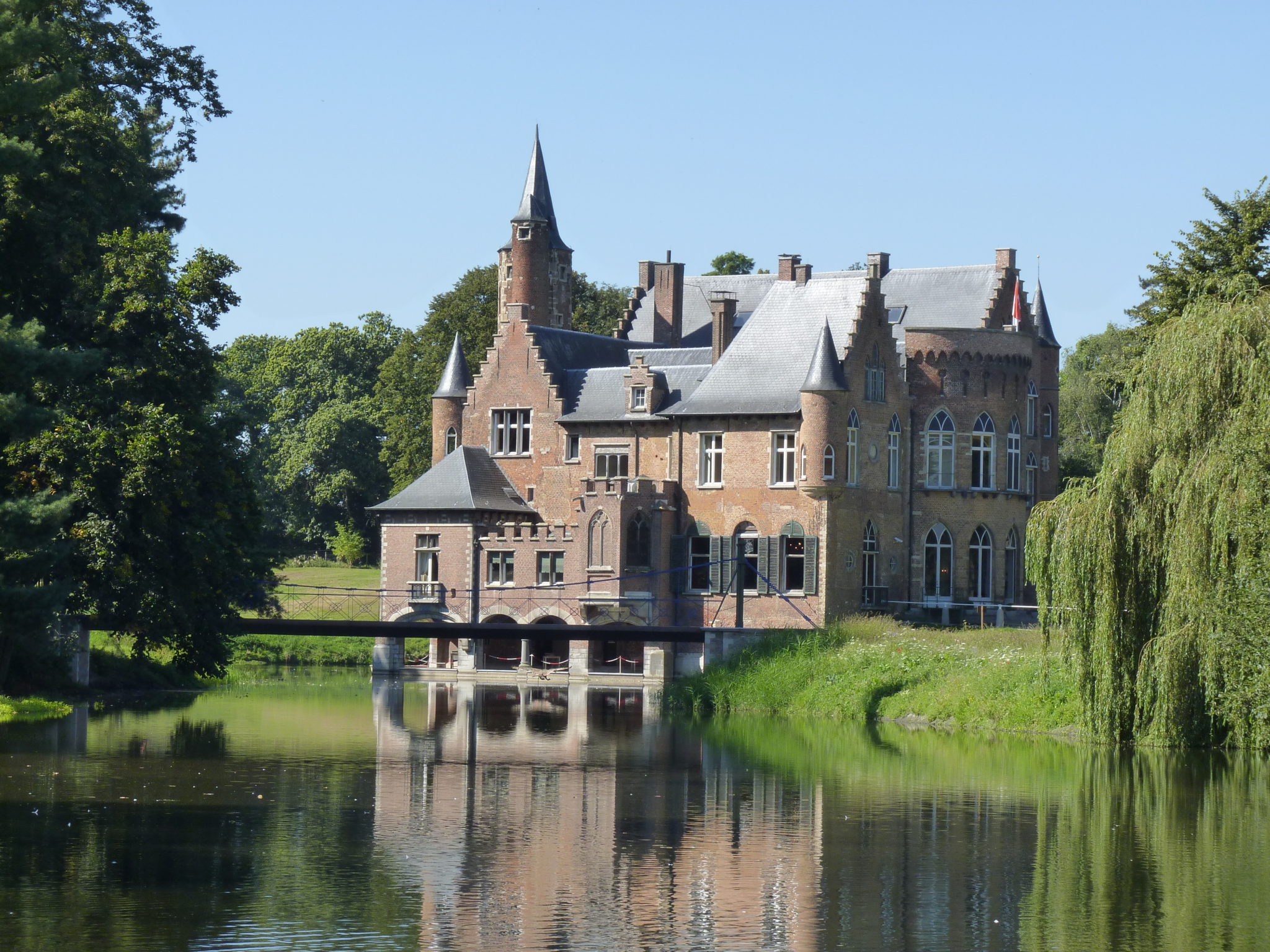 Fietsen tussen Waas- en Scheldeland.