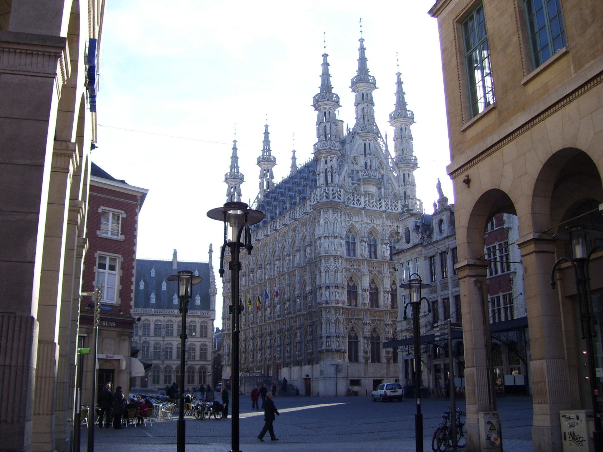 Vanuit Leuven de Hagelandse heuvels in.