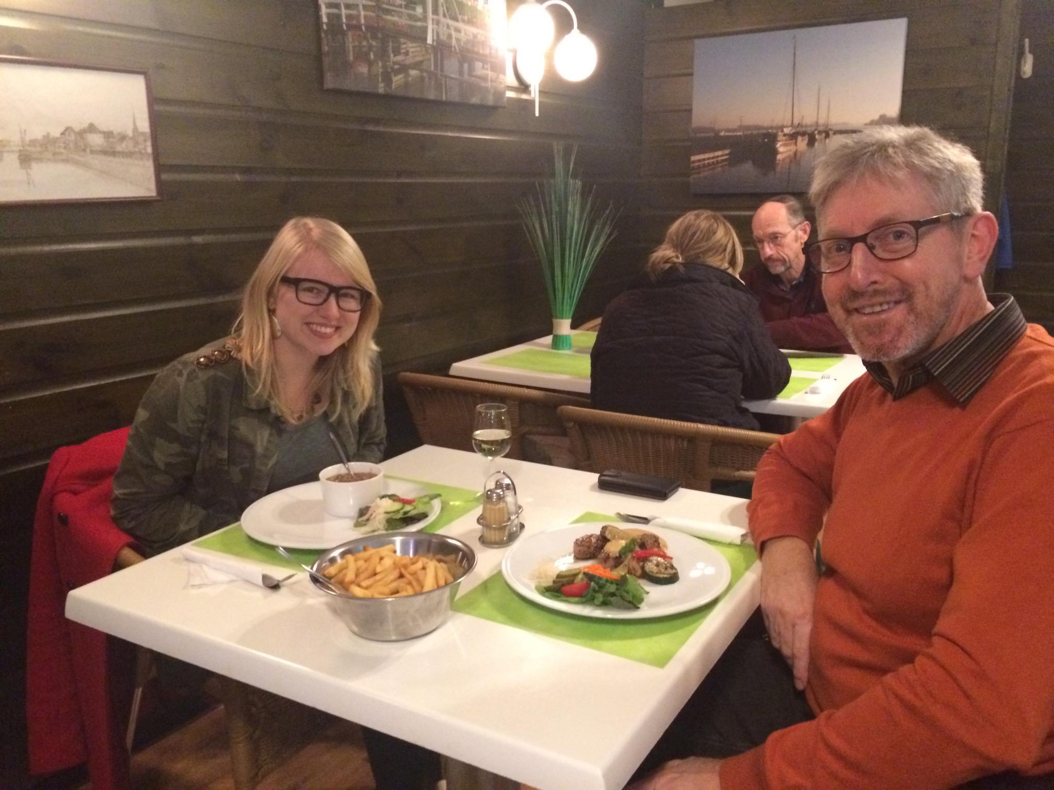 De Gastronoom: net over de grens in Sas van Gent (Nederland).