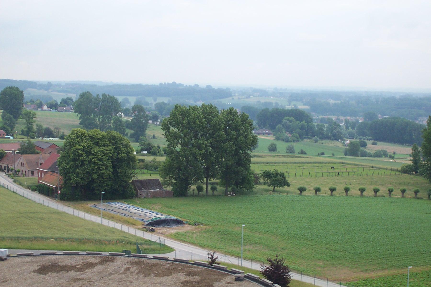 Mountainbiken in de Vlaamse Ardennen.