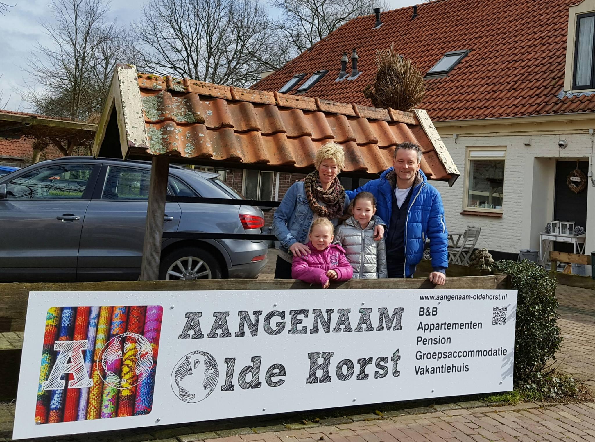 Aangenaam – Olde Horst appartementen, B&B, Pension, groepsaccommodatie.