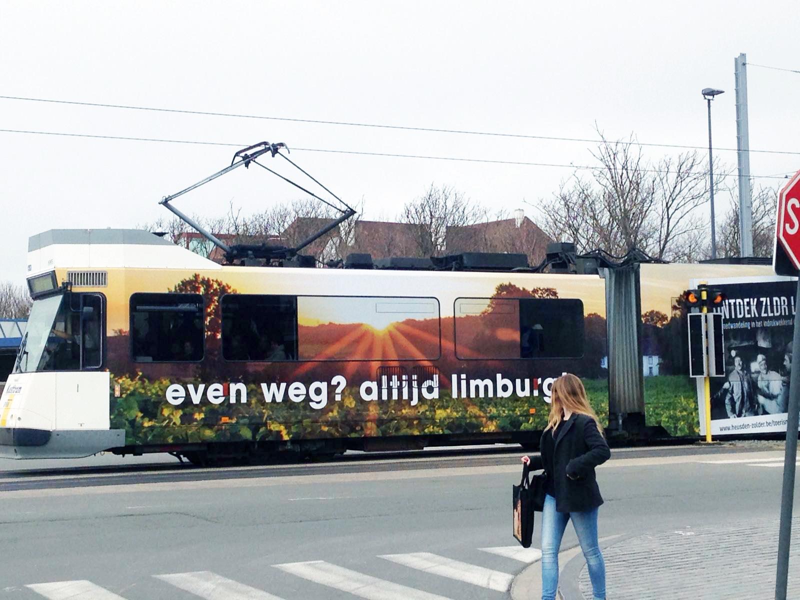 TOERISME LIMBURG PROMOOT LIMBURG OP KUSTTRAM.