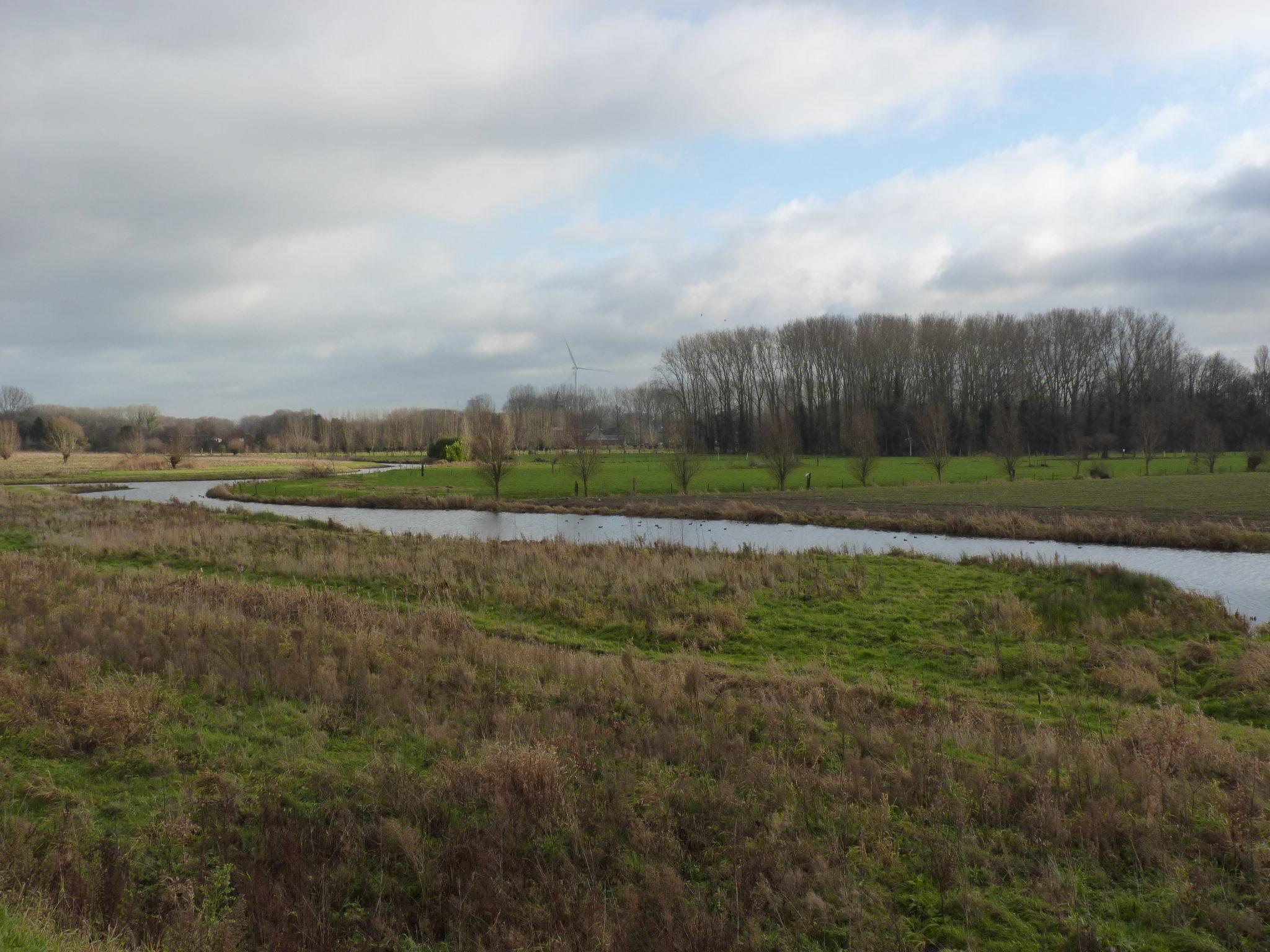 Wandelen in het koppelingsgebied Doornzele – Noord.