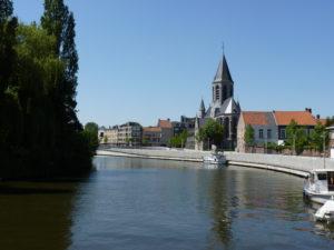 zicht op de stad Deinze