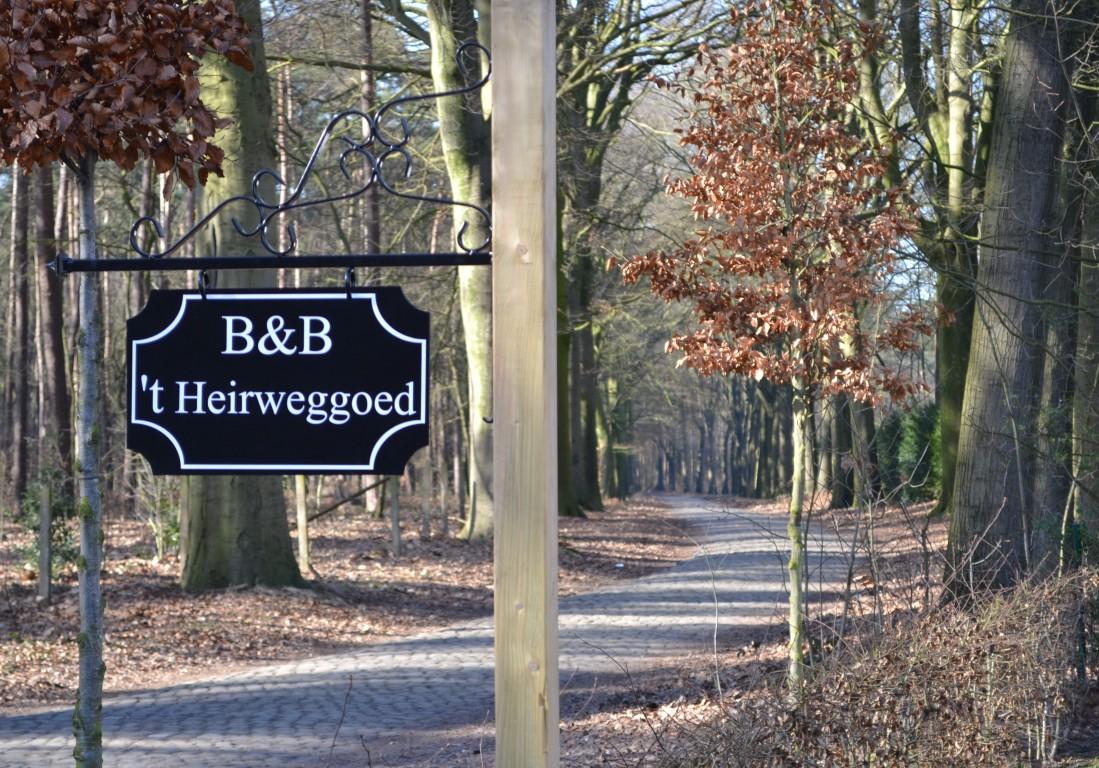 B&B 't Heirweggoed in Oosteeklo.