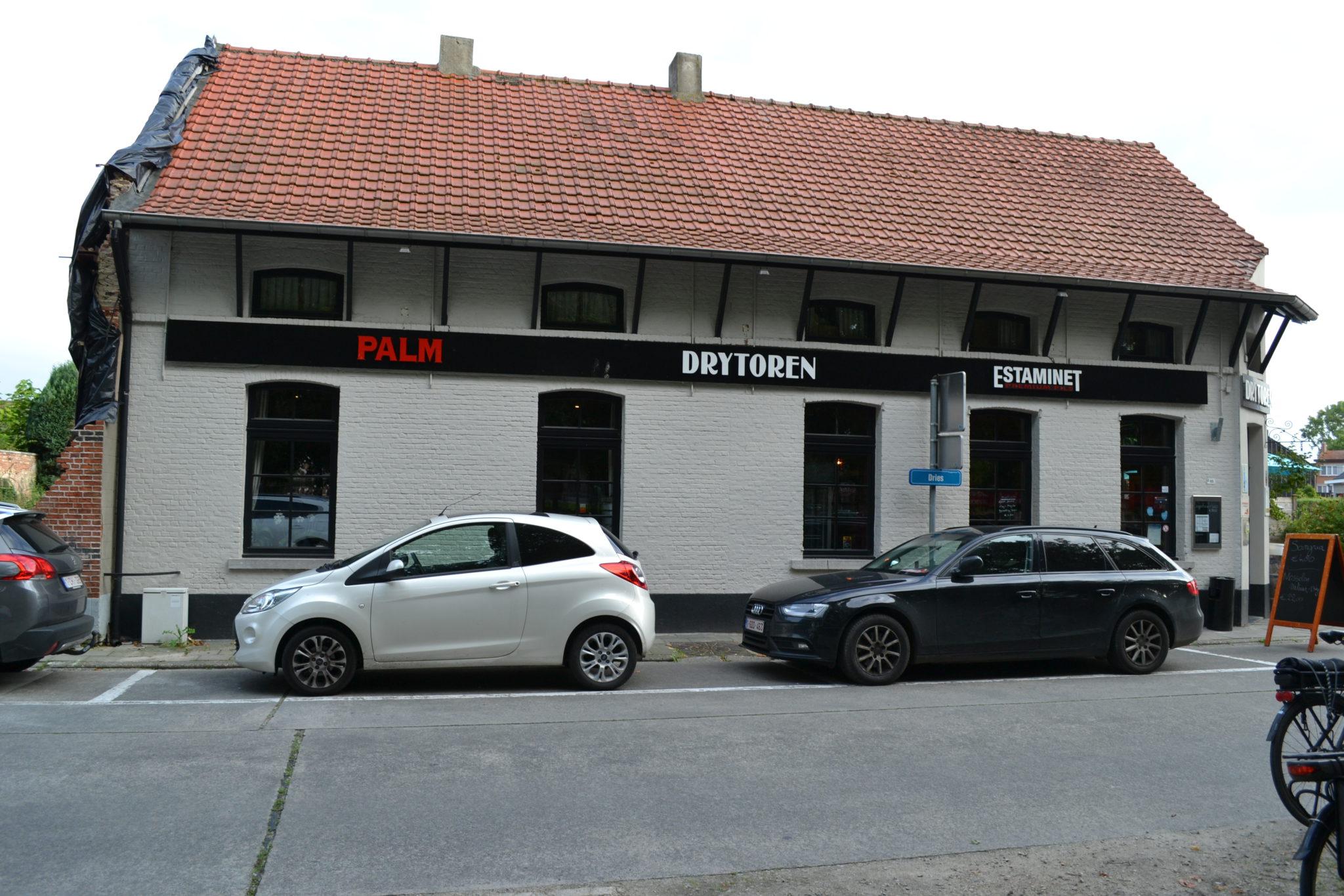 Café-restaurant – feestzaal Drytoren, de zoete inval.