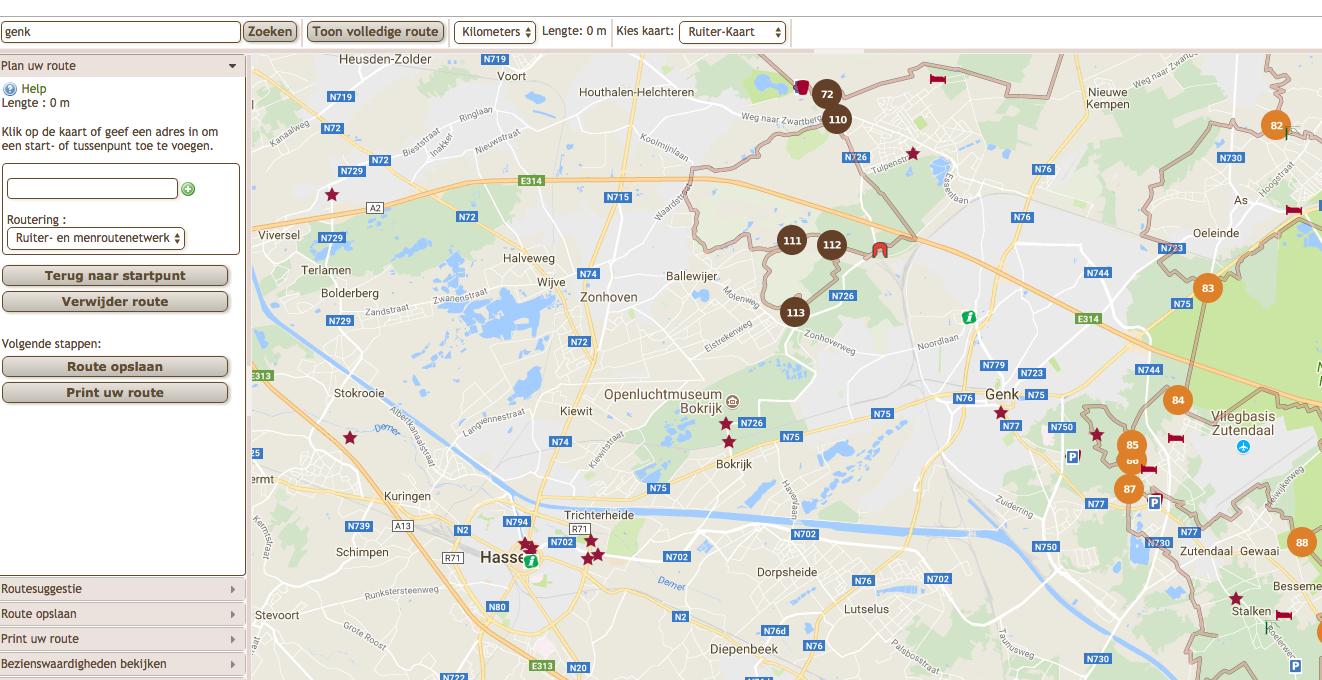 Ruiterparadijs Limburg: makkelijk op pad met de routeplanner.