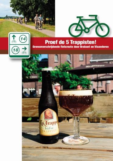 'Proef de 5 Trappisten' fietsroute in Noord-Brabant.