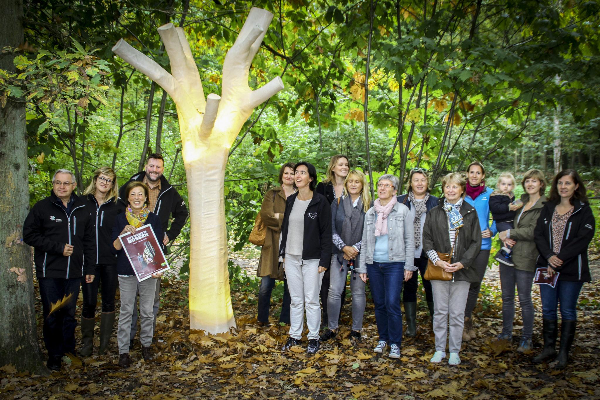 Toerisme Vlaams-Brabant lokt publiek naar mysterieuze bossen.