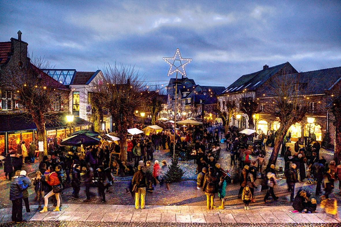 Vier de feestdagen in Noord-Limburg.