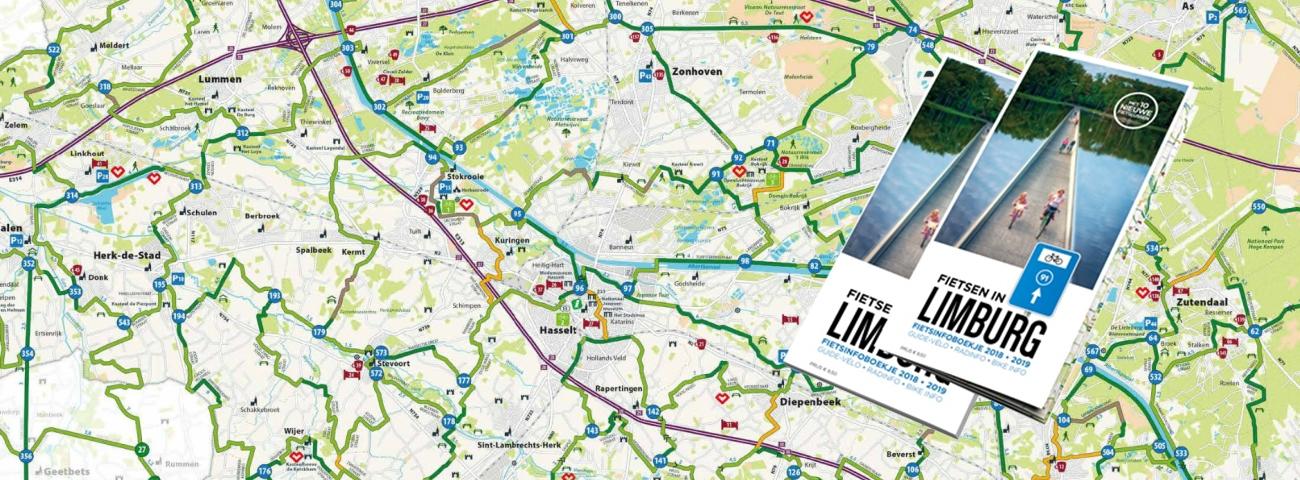Op weg met de nieuwe fietskaart Limburg.