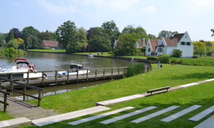 Fietsen in de Leiestreek: door de kunsttuin van Gent.