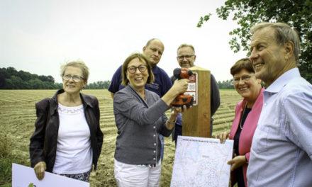 Start aanleg voor nieuw wandelnetwerk Brabantse Kouters.