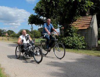 Toegankelijke fietsroutes.