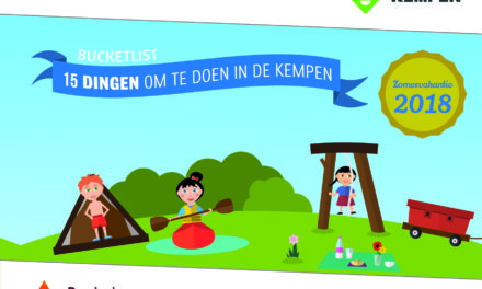 Jouw bucketlist voor een onvergetelijke zomer. 15 Avontuurlijke vakantie-ideeën voor klein én groot in de Kempen.