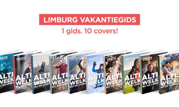 Nieuwe Limburg Vakantiegids onthult 'de vele gezichten van Limburg'.
