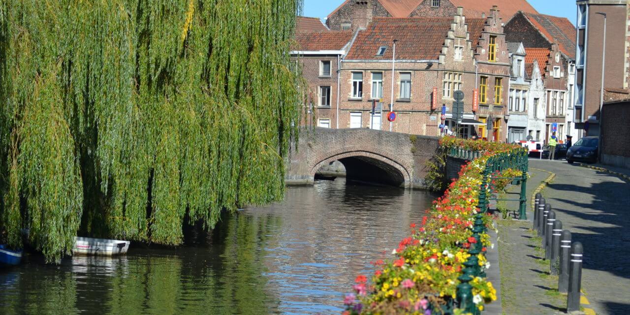 Fietsen in het Gent van Van Eyck.