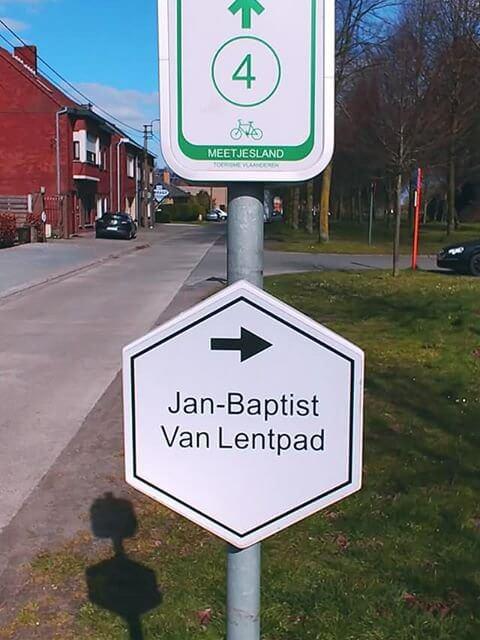 Wandelroute Jan-Baptist Van Lentpad.