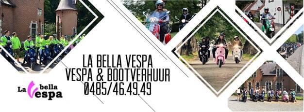La Bella Vespa: Vespa- en bootverhuur in Gent.