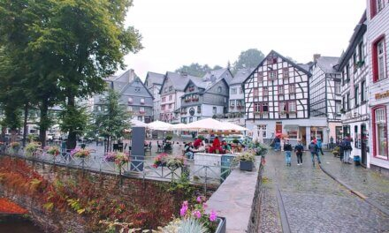 Stadswandeling in Monschau.