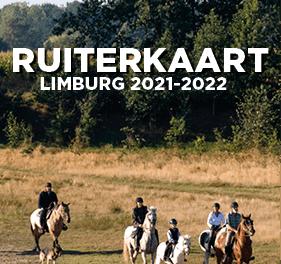 Ruiterkaart van Limburg.